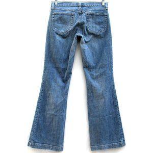 Gap Long And Lean Wide Leg Faux Turn Up Sz 8 Reg